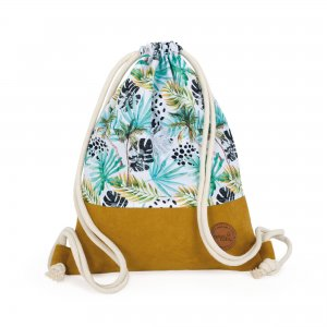 Drawstring backpack/bag Flora&Fauna Palmas
